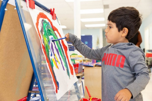 At Trimont Schools, children are given the opportunity to express themselves through art.