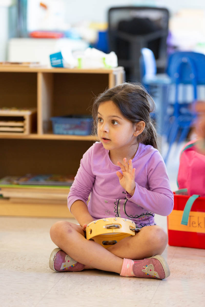Music enables children to express themselves and enhances development.