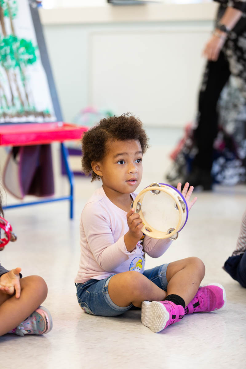 Music enables children to express themselves and enhances overall brain development.