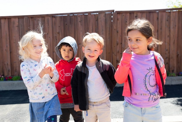 Supporting children as they develop social skills and confidence in problem solving.
