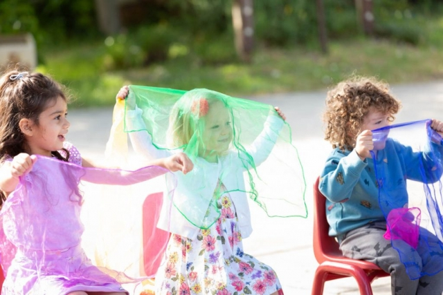 Music and movement help refine motor, listening, and communication skills.