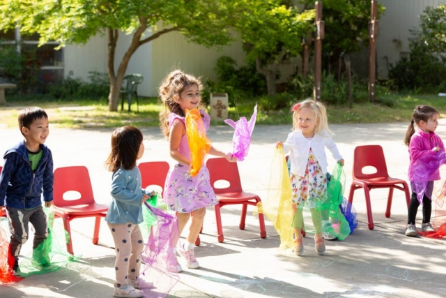 When a child is moving, they are learning. Movement is important for learning and development.