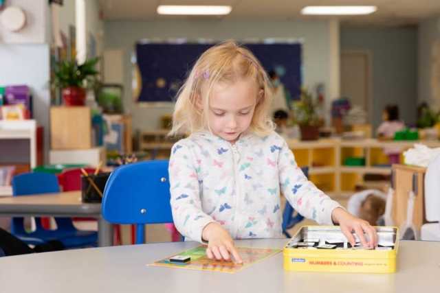 Tools are given to parents to follow along and supplement their children's learning.