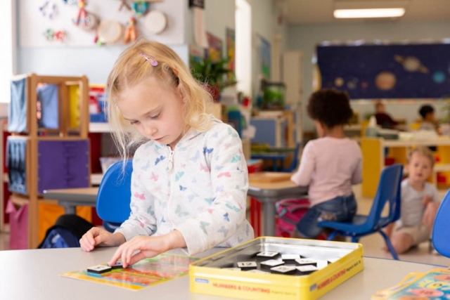 The Montessori Approach lets every moment be a learning moment.