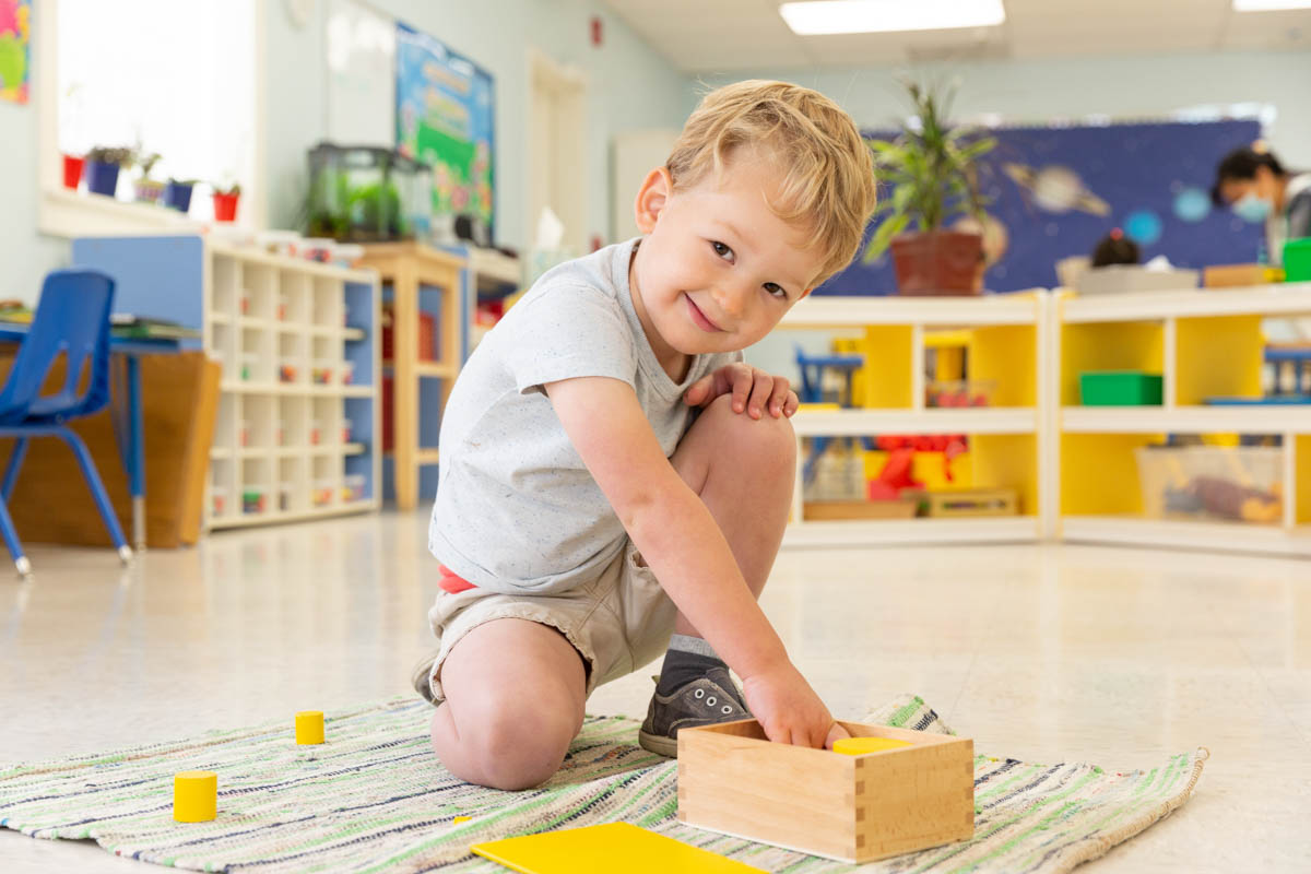 Children are given opportunities to develop their own capabilities.