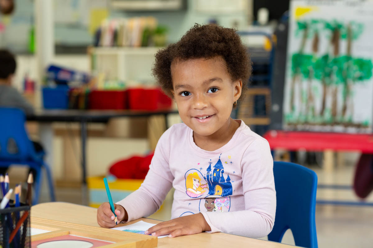 Our approach allows children to develop creativity, problem solving and social skills.
