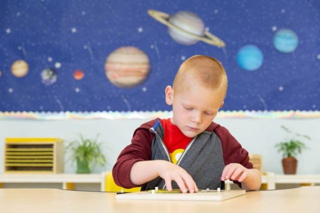 Our supportive environment gives children the opportunity to initiate learning.