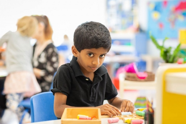 Working at their own pace allows our children to develop creativity, problem solving and time management skills.