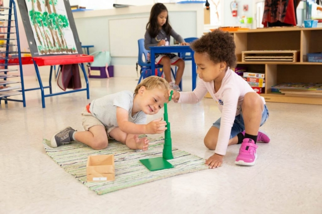 Learning to work together is an important skill to build.