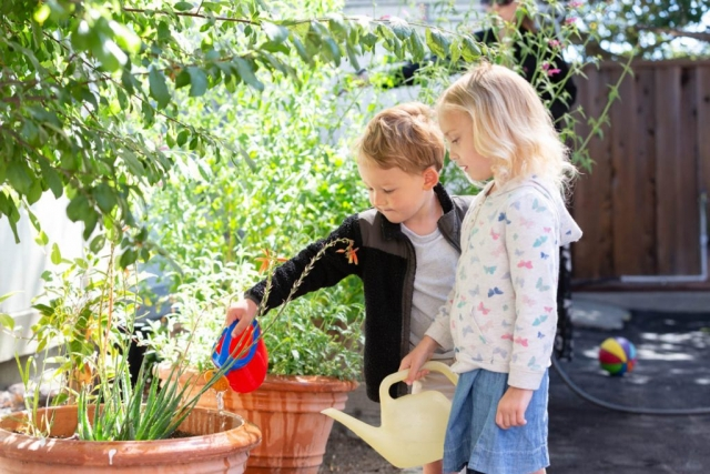 """""""Children must be taught to feel and live in harmony with the Earth."""" Mari Montessori"""